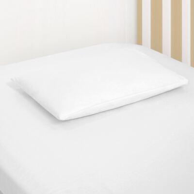 Imagem 1 do produto Fronha para bebe em malha Branco - Biramar Baby