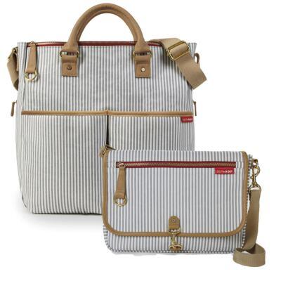 Imagem 1 do produto Bolsa Duo French Stripe +  Bolsa Soho French Stripe Limited Edition - Skip Hop