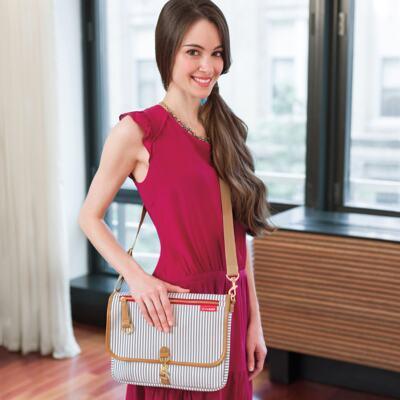 Imagem 10 do produto Bolsa Duo French Stripe +  Bolsa Soho French Stripe Limited Edition - Skip Hop
