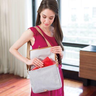 Imagem 12 do produto Bolsa Duo French Stripe +  Bolsa Soho French Stripe Limited Edition - Skip Hop