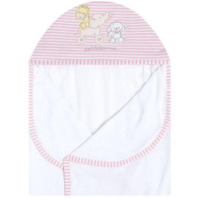 Imagem 2 do produto Toalha com capuz para bebe Elefantinha - Classic for Baby