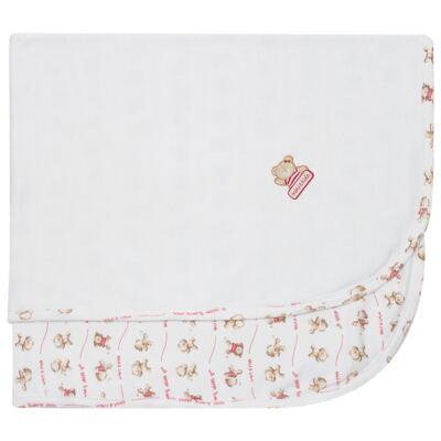 Imagem 1 do produto Manta em algodão egípcio c/ jato de cerâmica e filtro solar fps 50 Ursa Amici - Mini & Kids