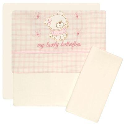 Jogo de lençol para carrinho em malha Butterflies - Classic for Baby