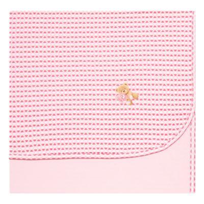 Imagem 1 do produto Manta para bebe em algodão egípcio c/ jato de cerâmica e filtro solar fps 50 Maternité Love - Mini & Kids