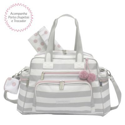 Imagem 1 do produto Bolsa para bebe Everyday Candy Colors Pink - Masterbag - MB12CAN299.08 SACOLA EVERDAY CANDY COLOR ICE PINK