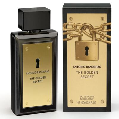 Imagem 1 do produto The Golden Secret By Antonio Banderas Eau De Toilette Masculino - 200 ml