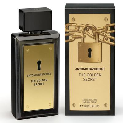 The Golden Secret By Antonio Banderas Eau De Toilette Masculino - 30 ml