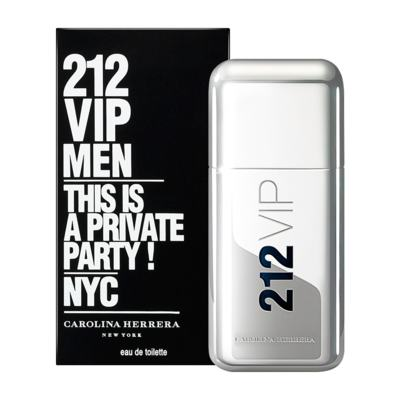 212 Vip Men By Carolina Herrera Eau De Toilette Masculino - 50 ml