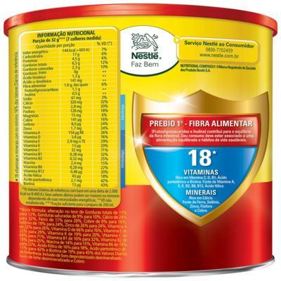 Imagem 2 do produto Composto Lácteo Nestlé Ninho Fases 1+ Lata 800g