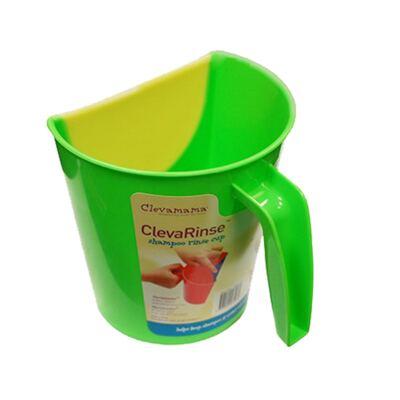 Imagem 3 do produto Enxaguante de shampoo ClevaRinse Verde e Tapete antiderrapante para banho e suporte para joelhos ClevaBath - Clevamama