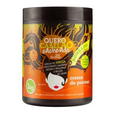 Griffus Quero Cabelão Cacheado - Leave-in - 1kg