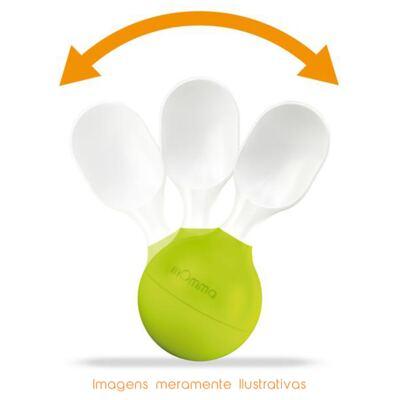 Imagem 4 do produto Garfo para alimentação Verde (6m+) - mOmma