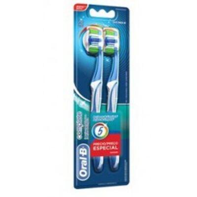 Escova Dental Oral-B Complete 2 Unidades