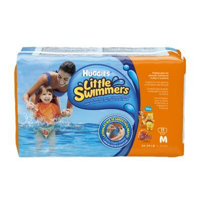 Fralda Descartável Little Swimmers Piscina M 11 Unidades