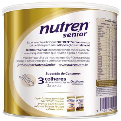 Imagem 2 do produto Nutren Senior 370g -