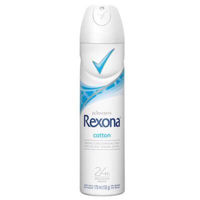 Imagem 1 do produto Desodorante Rexona Aerosol Cotton Feminino - 175 ml