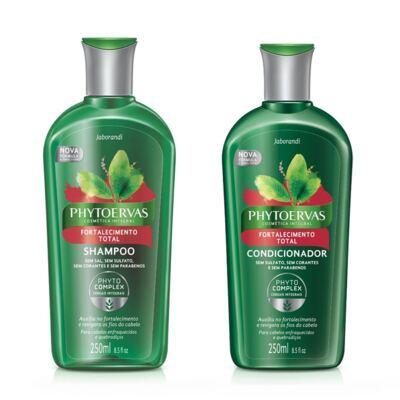 Imagem 1 do produto Shampoo Phytoervas Fortalecimento 250ml + Condicionador Phytoervas Fortalecimento 250ml