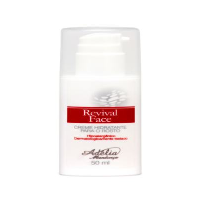 Revival Face 50ml - Creme Hidratante para o Rosto - 50ml