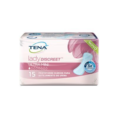 Imagem 1 do produto Absorvente Tena Lady Discreet Ultra Mini 15 Unidades