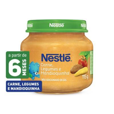Imagem 1 do produto Papinha Nestlé Carne Cenoura Batata Mandioquinha 115g