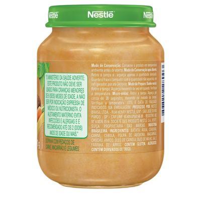 Imagem 2 do produto Papinha Nestlé Macarrão Carne e Legumes 170g