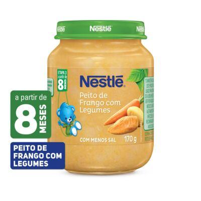Imagem 1 do produto Papinha Nestlé Peito de Frango com Legumes 170g