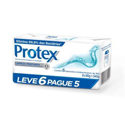 Imagem 1 do produto Sabonete Protex Limpeza Profunda Pack 90g