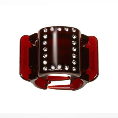 Prendedor de Cabelos Linziclip Basic Diamante Gloss - Tort Diamante