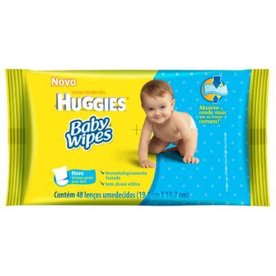 Imagem 1 do produto Lenços Umedecidos Baby Wipes 48 unidades