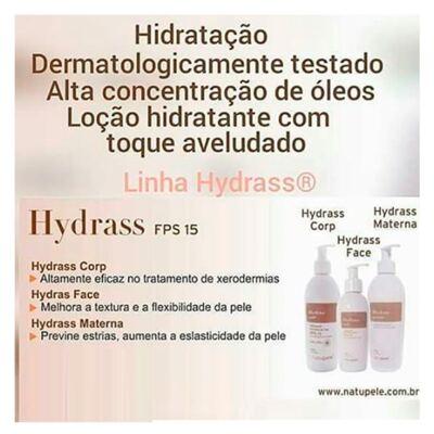 Imagem 2 do produto Hydrass Face Fps 15 Natupele - Hidratante Facial - 150g