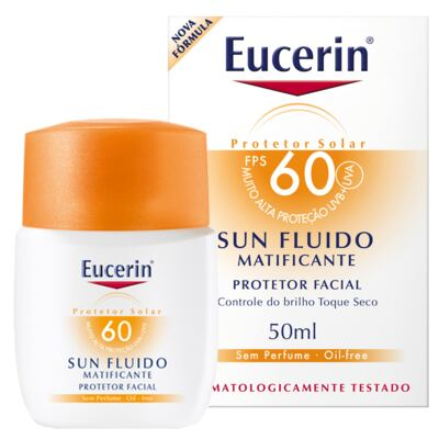 Imagem 2 do produto Sun Fluido Matificante FPS 60 Eucerin - Protetor Solar - 50ml