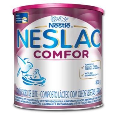 Imagem 1 do produto Composto Lácteo Neslac Comfor - lata, 800g -