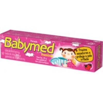 Imagem 1 do produto Pomada para Assadura Babymed Menina 45g