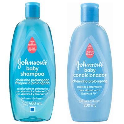 Imagem 1 do produto Shampoo + Condicionador Johnson's Baby Cheirinho Prolongado 200ml