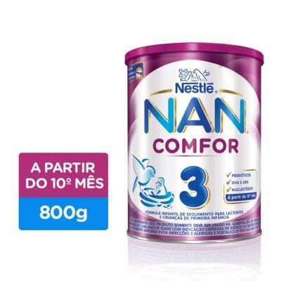 Imagem 1 do produto Fórmula Infantil NAN COMFOR 3 Lata 800g