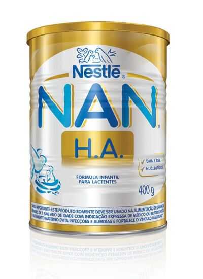 Imagem 1 do produto Fórmula Infantil NAN H.A. Lata 400g