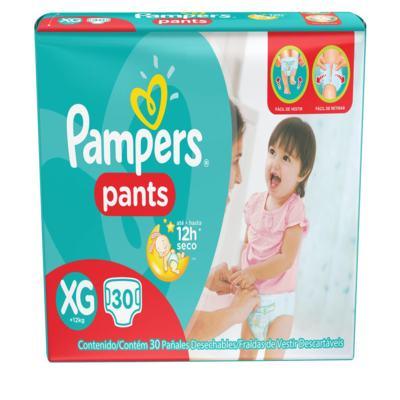 Imagem 1 do produto Fralda Descartável Pampers Pants Mega XG 30 Unidades