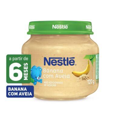 Imagem 1 do produto Papinha Nestlé Banana Aveia 115g