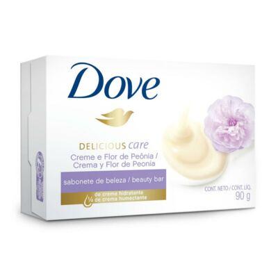 Imagem 1 do produto Sabonete Dove Delicious Care Creme e Flor de Peônia 90g