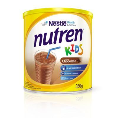 Imagem 1 do produto Suplemento Alimentar Nestlé Nutren Kids Chocolate 350g -