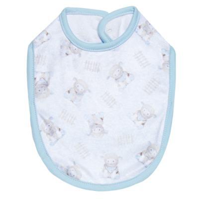 Imagem 1 do produto Babador para bebe atoalhado Ovelhinha Azul - Petit