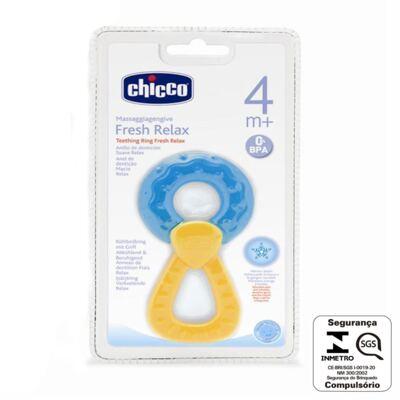 Imagem 2 do produto Massageador de gengiva Fresh Relax Azul (4m+) - Chicco