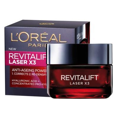 Imagem 1 do produto Creme Anti-Idade L'Oréal Paris Revitalift Laser X3 Diurno - 50ml