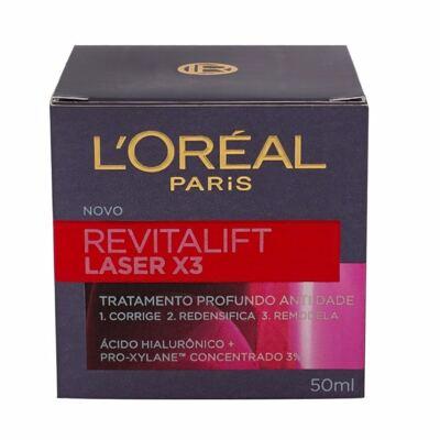Imagem 3 do produto Creme Anti-idade Revitalift Laser X3 L'Oréal 50ml