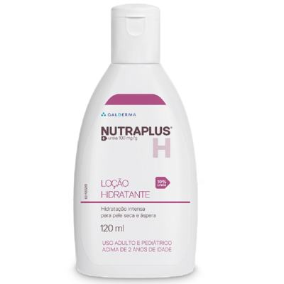 Imagem 3 do produto Nutraplus Loção Hidratante Uréia 10% para Pele Seca e Áspera 120ml - 120mL