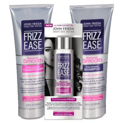 Imagem 1 do produto Kit Shampoo + Condicionador + Primer John Frieda Frizz Ease Beyond Smooth Frizz Immunity - Kit