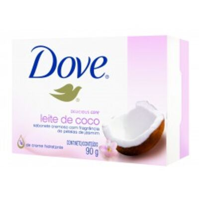 Sabonete Dove Delicious Care Leite de Côco 90g