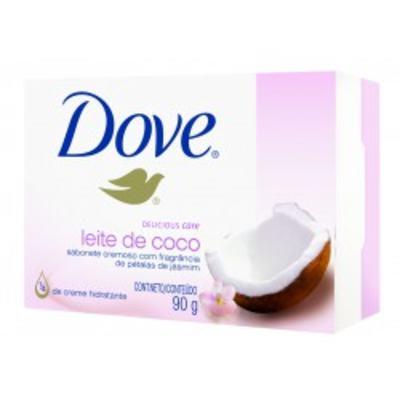 Sabonete Dove Delicious Care Leite de Côco 90g