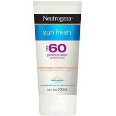Protetor Solar Neutrogena Sun Fresh FPS 60 200ml