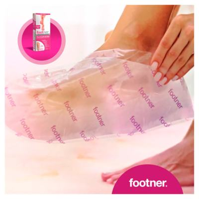 Imagem 2 do produto Meias Esfoliantes Footner - Exfolianting Socks - 1 Par